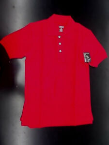 Boys French Toast $20 Uniform/Casual Red Polo Shirt Husky Size 10H - 18H