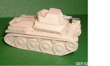 Segunda Guerra Mundial German Sdkfz 140/1 Aufklarungspanzer 38 Kit De Modelo De Resina Tanque Scout-G40