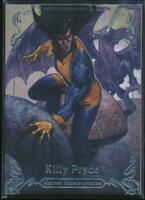 2018 Marvel Masterpieces Trading Card #31 Kitty Pryde /1999