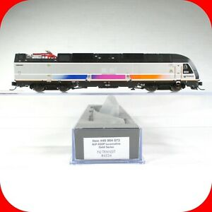 N Scale NJ NEW JERSEY TRANSIT ALP-45DP Locomotive Gold Series DCC w/ Sound ATLAS