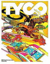 original 1976 TYCO TOYS dealers' trade CATALOG slot cars trains w/orig pricelist