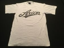 AXION FOOTWEAR Logo T-Shirt Small S white SKATEBOARD Kareem Campbell SKATE 2002