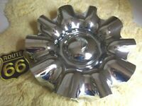 "x1 NOS ALBA 9-5/8"" across the front Custom Wheel Center Cap Hub for Chrome Rim"