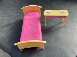 Barbie Doll Bed & Dressing Table