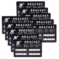 300X Orthodontic Metal Dental Brackets Braces Standard Roth 018 Slot Hooks 3 4 5