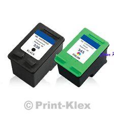 Cartuchos para hp Photosmart C3180 C8765EE C8766EE Set Ahorro Color Print