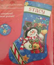 Needle Treasures 06907 STAR SPANGLED Christmas Stocking Kit   ~ Sealed