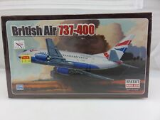 Minicraft BRITISH AIR 737-400 1/144 Scale Model Kit 14517 NEW Sealed