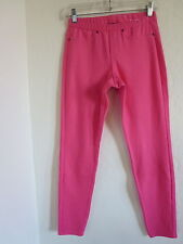 HUE SOFT LEGGINGS, PEACH/PINK, SMALL, NWT