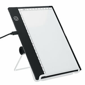 A5 LED Drawing Copy Pad with Scale USB Art Artcraft Graphic Painting Drawing Wri