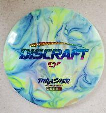 Discraft Custom Dyed ESP 170-172g Thrasher Distance Driver Stars Foil Disc Golf