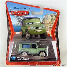 Disney Pixar CARS 2 Movie #17 Miles Axlerod 1/55 die cast diecast Mattel
