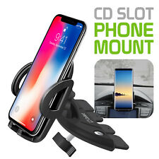 CD Slot Phone Holder Mount for Apple iPhone , Samsung Galaxy , Google Pixel