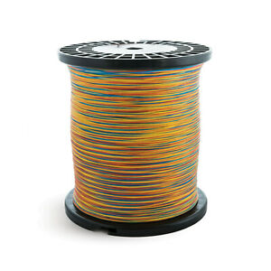 Scientific Anglers Specialty Tri-Colored Dacron Fly Line Backing 100, 500 & 5000