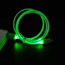 LED Light UP USB Charger Data Sync Charging Cable For iPhone 5S SE 6S 7 Plus Lot