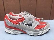EUC Nike Air ZOOM PLUS 314018-801 Womens US 8 Orange Bone Black Running Shoes