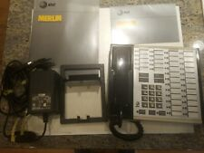Vintage AT&T/ATT Merlin 7503H02D & BIS-10 w Manuals & Accessories As Shown-AS IS