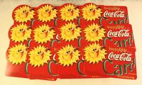 Lot of 12 Coca Cola1997 Promotional Discount Card Domino's Pizza & AMC Theatres
