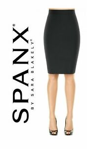 Spanx Star Power Dress to Slimpress Slimming Skirt Bold Black 1899 Size 12 Zip