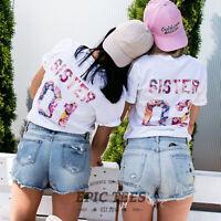 Sister 01 Sister 02 Shirts Matching Sister Shirts Gift for Sister Women's Shirts