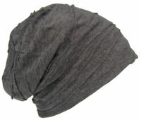 Cool4 Vintage Pleats Structure Beanie Anthracite Dark Grey Slouch Retro VSB14