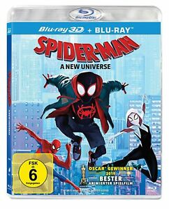 SPIDER-MAN - INTO THE SPIDER-VERSE - Bluy-ray 3D & 2D - Region ALL