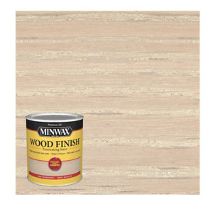 Minwax Wood Finish Penetrating Oil-Based Wood Stain, Simply White, 1 Quart