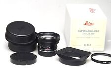 Leica Super-Angulon-R 21mm F4 E72 11813 BOXED