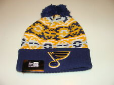 St Louis Blues Cap Hat NHL Hockey New Era Beanie Toque Retro Chill Knit OSFM