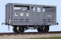 Slaters 7023 O Gauge LMS/BR Cattle/Ale Wagon Kit