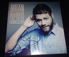 BRIAN MCFADDEN THE IRISH CONNECTION SIGNED AUTOGRAPH CD ALBUM EX WESTLIFE