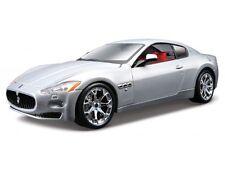 MASERATI GRAN TURISMO Silver 1:24 Car Metal Model Die Cast Models Diecast