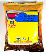 2 Bags Best Thai Tea Leave Mix Pantai (Pantainorasingh) Brand 16 oz. Each