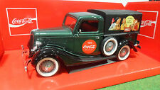 FORD  Pick-Up bache COCA COLA vert 1/18 SOLIDO 9513 voiture miniature collection