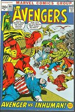 Avengers 95 VF WHITE Picture-Frame Cover NEAL ADAMS `71