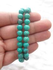 Turquoise (Green Hawlite) stone Bracelet BEADS 8mm