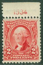 EDW1949SELL : USA 1903 Scott #301 Plate number single. PO Fresh. MNH. Cat $37++
