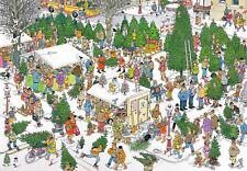 Jan Van Haasteren Christmas Tree Market Jigsaw Puzzle (2000 Pieces)
