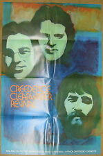 CREEDENCE CLEARWATER REVIVAL s/t 1969 Ampex US Promo POSTER Fogerty CCR