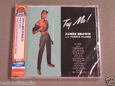 Try Me  James Brown & His Famous Flames  UICY 77124 CD Made in Japan NEW