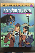 BD sherlock holmes n°6 le rat géant du sumatra EO 1995 très bon état di sano