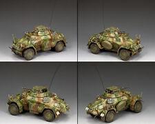 King & Country Ww2 German Army WS210 Sd. Kfz. 222 Armored Car Set Normandy MIB
