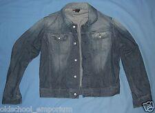 DIESEL / GREGG - VTG Womens (Ladies) DENIM button-up Jacket. 100% cotton. Size M