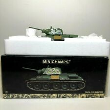 Minichamps T34/76 WWll Tank 1943 Production 1:35 Scale Die-Cast New Open Box