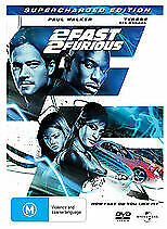 2 Fast 2 Furious Supercharged Edition DVD 2009 Region 4 5050582614299