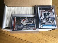 HOCKEY 7th INNING SKETCH QMJHL 1990-91 COMPLETE 268 CARD SET w/ MARTIN BRODEUR🔥