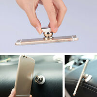 Universal Magnetic Car Mount Kit Sticky Stand Holder For Mobile Cell Phone Best