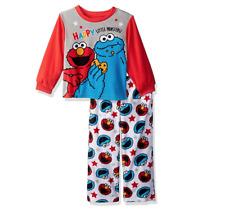 Sesame Street Elmo and Cookie Monster 2 Piece Pajama Set Size 4t