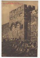 Jerusalem Gate Of Christ's Triumphal Entry 1915/20 Postcard Palestine 912b