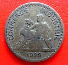 LIMITATA Vintage Francese 1 Franco MONETA datata 1923 in un grado molto da collezione